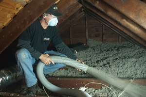 Blown Insulation in Spring Valley